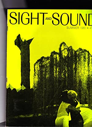 Sight & Sound magazine. SUMMER 1965. International Film Quarterly. Includes Jean-luc Godard Ou ...