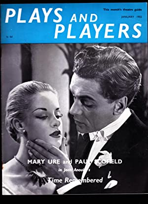 PLAYS AND PLAYERS Monthly Magazine. January 1955