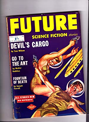 Future Science Fiction Stories. Number 7. British Edition: Robert W. Lowndes Editor; Tom Wilson