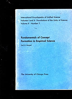 Fundamentals of Concept Formation in Empirical Science: Carl G. Hempel