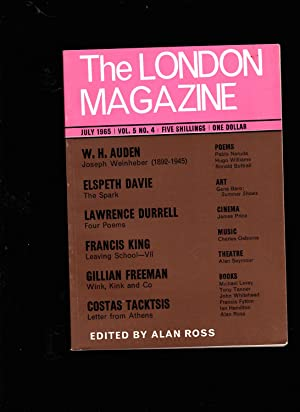 London Magazine. JULY 1965