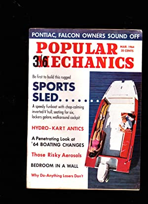 POPULAR MECHANICS Magazine. March 1964