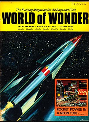 WORLD OF WONDER MAGAZINE. 1st July 1972. Number 119