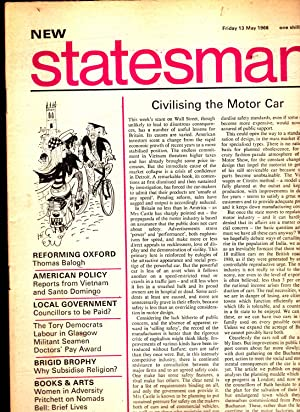 NEW STATESMAN Friday 13 May 1966