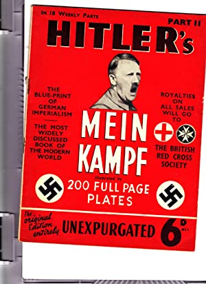 Part 11 of HITLER'S MEIN KAMPF: Illustrated.: Adolph Hitler