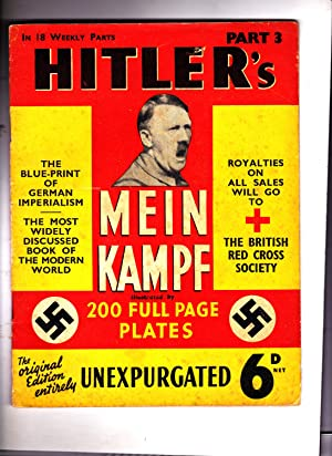 Part 3 of HITLER'S MEIN KAMPF: Illustrated.: Adolph Hitler