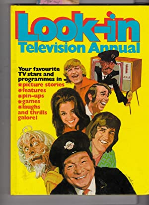Look-in. TELEVISION ANNUAL. Junior TV Times. Copyright