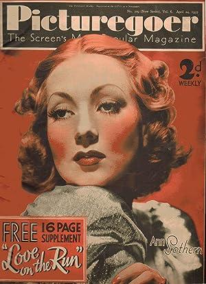 Picturegoer the Screen's Most Popular Magazine. No. 309. New Series. Vol 6. April 24, 1937. Ann...