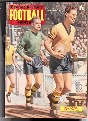 CHARLES BUCHAN'S FOOTBALL MONTHLY MAGAZINE. September 1960: Front Cover Bill Slater Leads Out ...