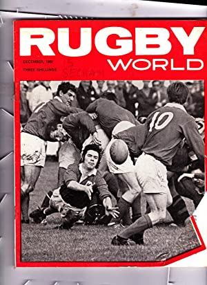 RUGBY WORLD MAGAZINE. DECEMBER 1968: Cecil Bear: Editor