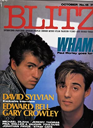 BLITZ MAGAZINE. No. 15. October 1983. WHAM!: Carey Labovitch: Editor