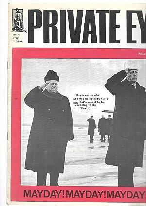 Private Eye. No. 36. Friday 3 May 1963. Front Cover : Harold Macmillan Nikita Khrushchev PHOTO. ...