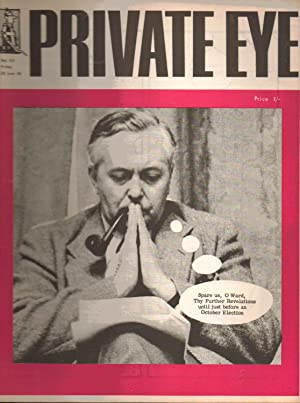 Private Eye. No. 40. Friday 28 june 1963. Front Cover : Harold Wilson: Richard Ingrams: Editor