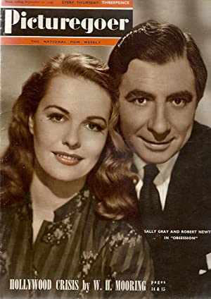 Picturegoer. September 10, 1949. Front Cover: Sally Gray and Robert Newton