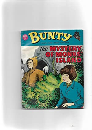 The Mystery of Monk Island. BUNTY PICTURE STORY LIBRARY FOR GIRLS No. 48
