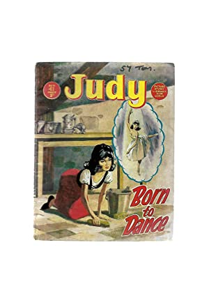 Born to Dance. JUDY PICTURE STORY LIBRARY FOR GIRLS No. 41. Photo on back cover: Winnie Shaw Tennis...