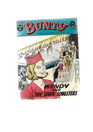 Wendy and the Seven Songsters. BUNTY PICTURE STORY LIBRARY FOR GIRLS No. 44