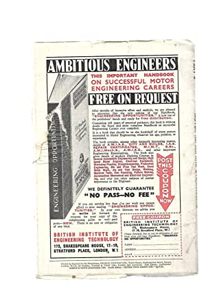 Motor Repair and Overhauling Part 9. 16 JUNE 1939. With Morris Ten Data Sheet: WRITTEN BY EXPERTS