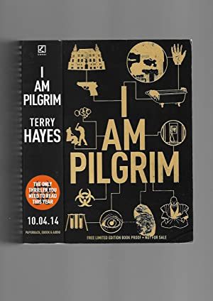 I AM PILGRIM --------- Limited Edition BOOK PROOF: Terry Hayes