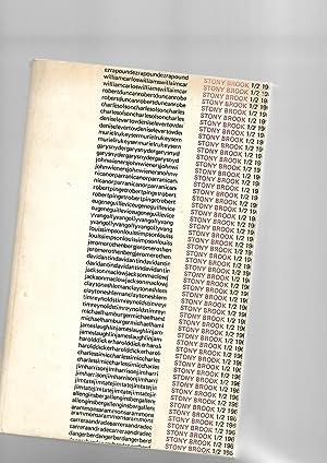 Stony Brook 1/2. Fall 1968: Ezra Pound, Robert Duncan, Denise Levertov, Charles Olson, Carl Rakosi,...