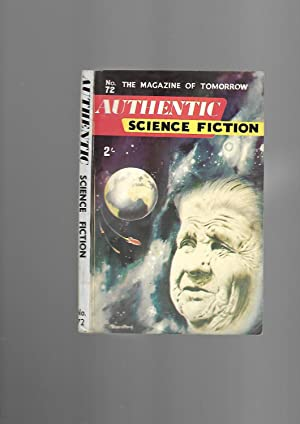 Authentic Science Fiction Monthly. Number 72. August 1956: E.C Tubb: Editor