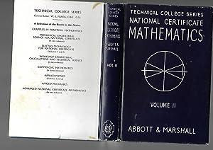National Certificate Mathematics Volume II. The Technical: P. Abbott &
