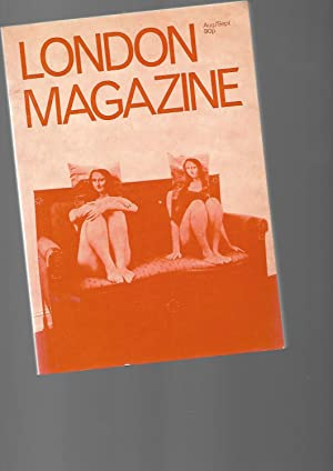 London Magazine. AUGUST SEPTEMBER 1972: Alan Ross: Editor