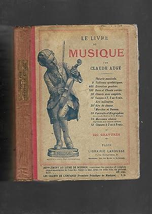 Le Livre de Musique: Claude Auge