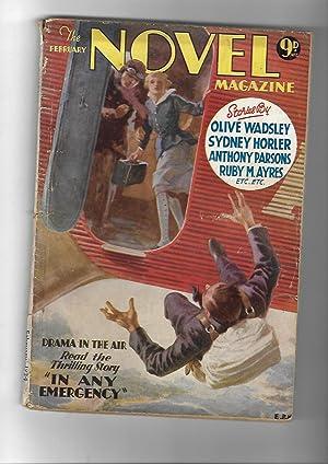 The Novel Magazine. February 1934: Olive Wadsley; Sydney Horler; Anthony Parsons; Ruby M. Ayres ; ...