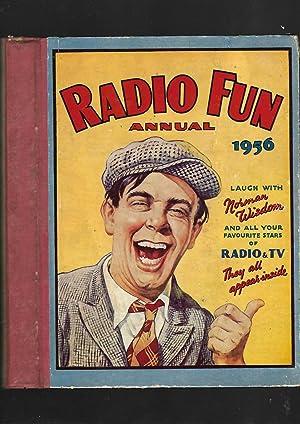 Radio Fun Annual 1956. Norman Wisdom Front Cover