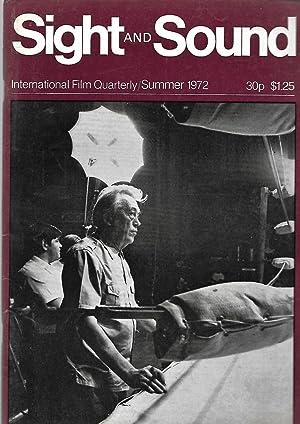 Sight & Sound magazine. INTERNATIONAL FILM QUARTERLY. Summer 1972 . Front Cover: John Huston. ...