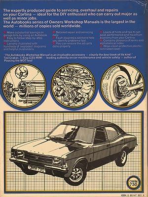 ford cortina mk3 1970 76 autobook ford cortina mk3 1300 1600 ohv rh abebooks com Ford Cortina Pictures New Zealand MK3 Ford Cortina Wagon