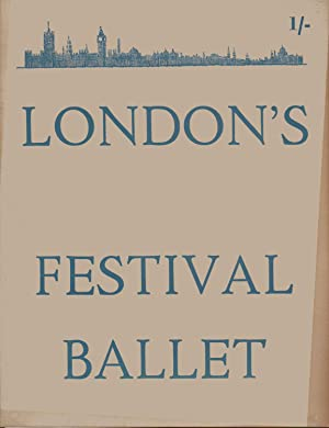 London's Festival Ballet Touring Programme with Programme for Southend-on-Sea January 15th ...