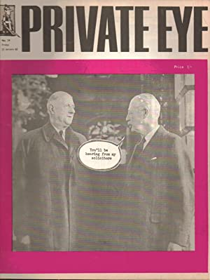 Private Eye. No. 29. Friday 25 January 1963.: Richard Ingrams: Editor