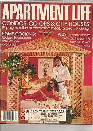 Apartment Life Magazine September 1980