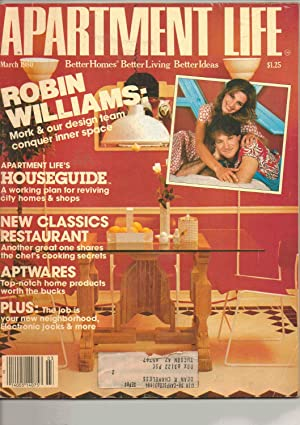 Apartment Life Magazine March 1980 Front Cover