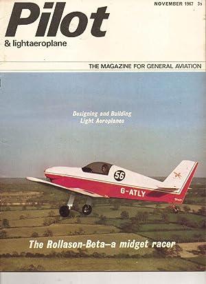PILOT and Lightaeroplane Magazine. November 1967: Brian Healey: Editor