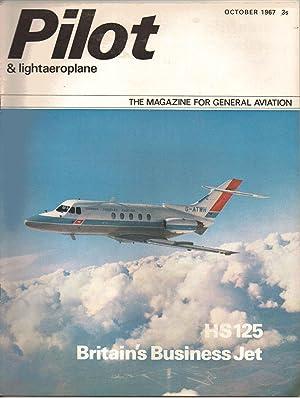 PILOT and Lightaeroplane Magazine. October 1967. FIRST: Brian Healey: Editor