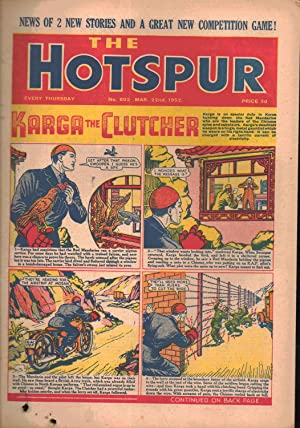 The Hotspur Comic. No. 802. March 22nd 1952