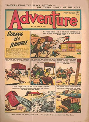 Adventure (comic) Number 1325. June 10, 1950