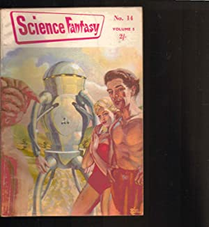 SCIENCE FANTASY magazine. VOLUME 5. NUMBER 14. JUNE 1955. BRITISH EDITION.