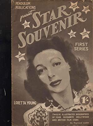 Star Souvenir First Series. Twelve Illustrated Biographies of Your Favourite Hollywood and British ...