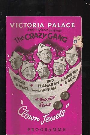 Programme: Victoria Palace, London. Jack Hylton Presents