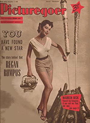 Picturegoer THE NATIONAL FILM AND ENTERTAINMENT WEEKLY. WEEK ENDING November 5, 1955. FRONT COVER: ...