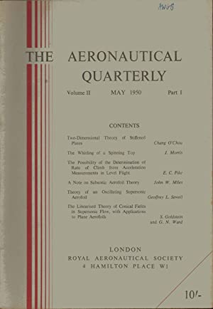 THE AERONAUTICAL QUARTERLY VOLUME 2. PART 1. MAY 1950