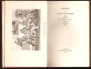 Viniana with an introduction by H.W. Allen. 1st. edn.