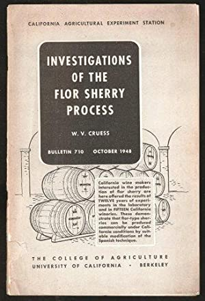 Investigations of the Flor Sherry Process. 1948.