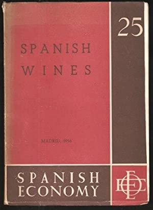 Spanish Wines. Number 25. 1956.