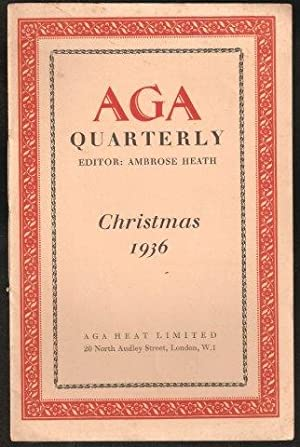 AGA Quarterly No.2. Christmas, 1936.