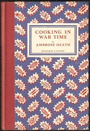 Cooking in War Time. 1st. edn. 1939.
